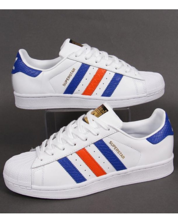 adidas red white blue trainers