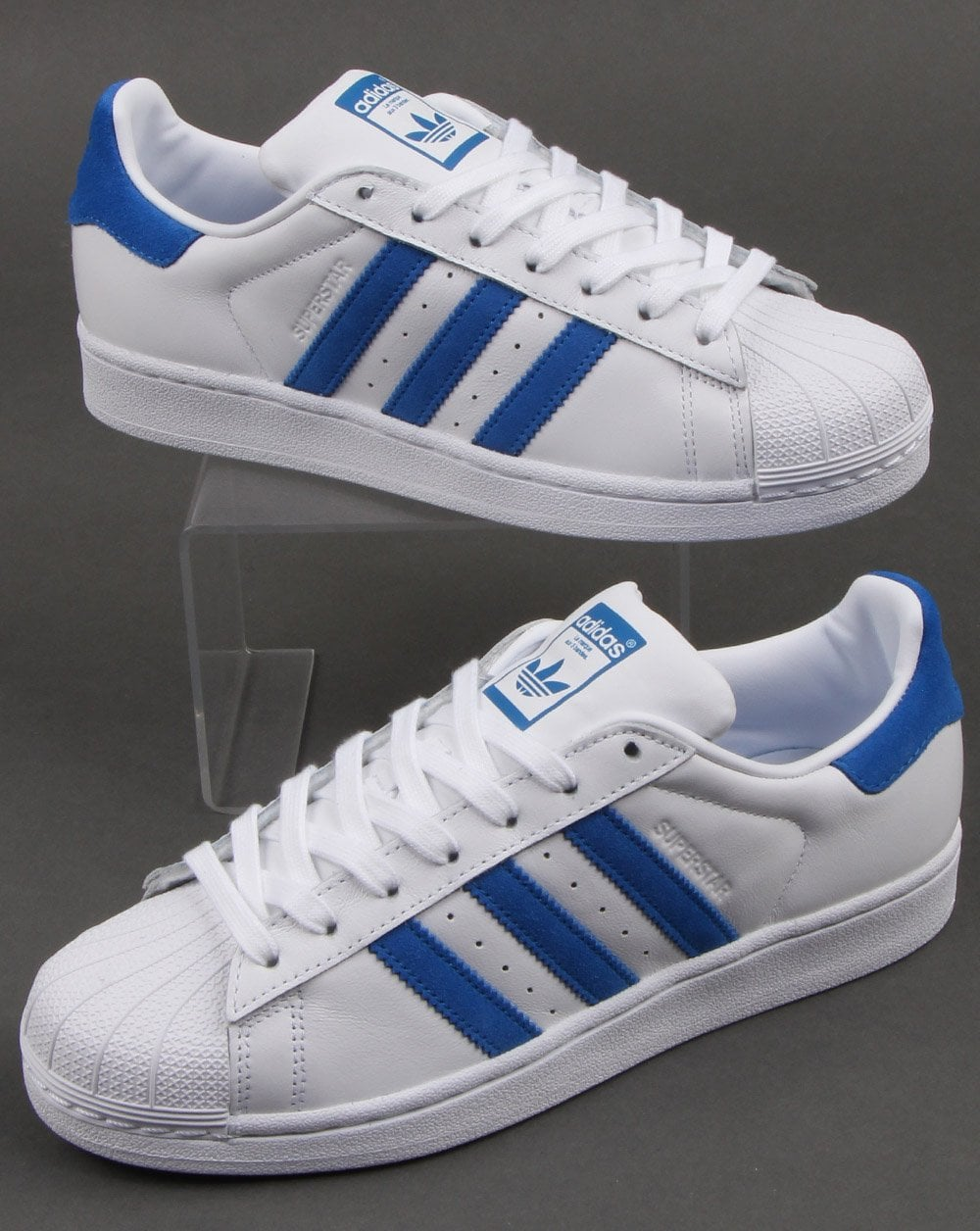 adidas Superstar J W shoes white silver