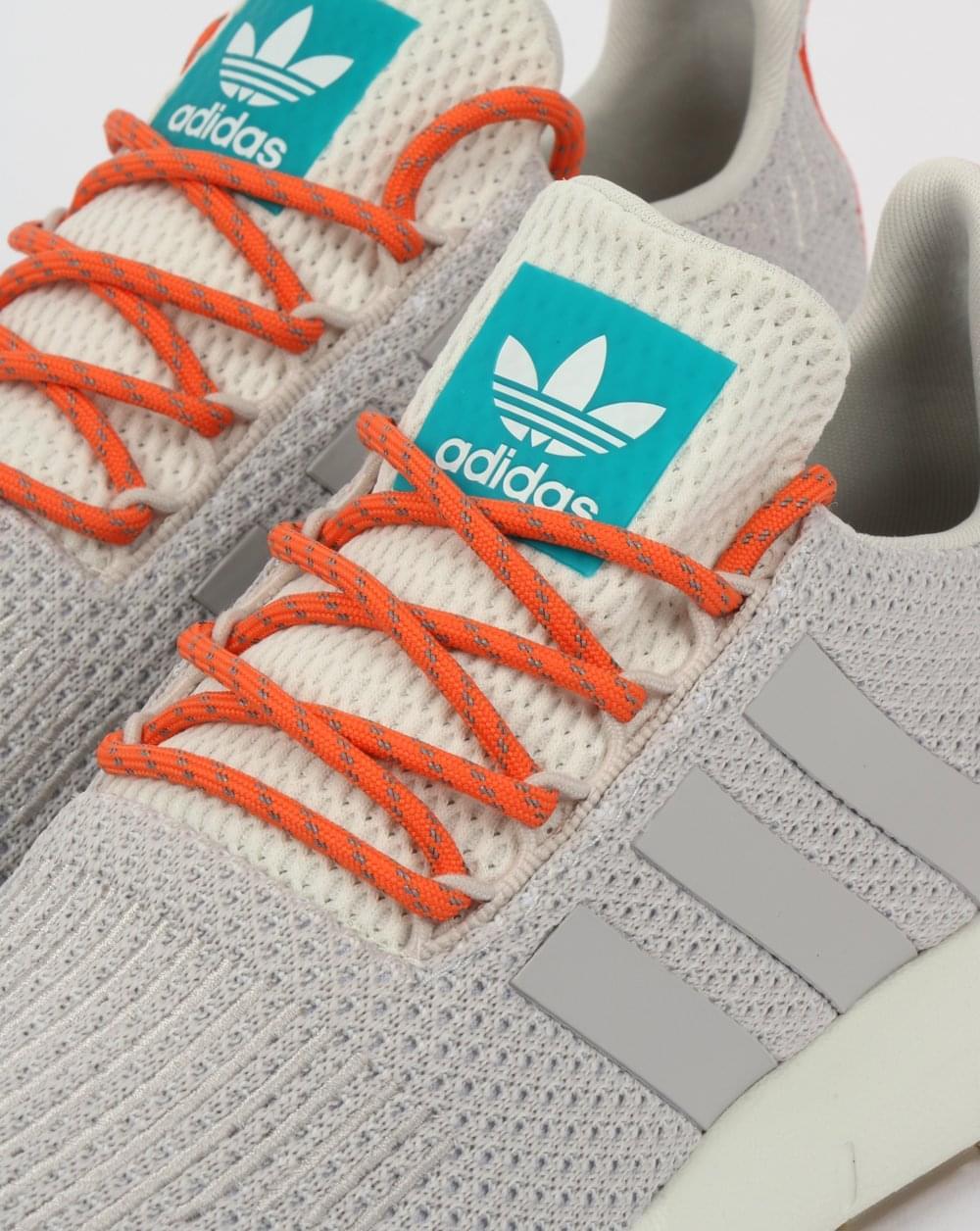 23f765782c518e Adidas Swift Run Summer Trainers White Grey