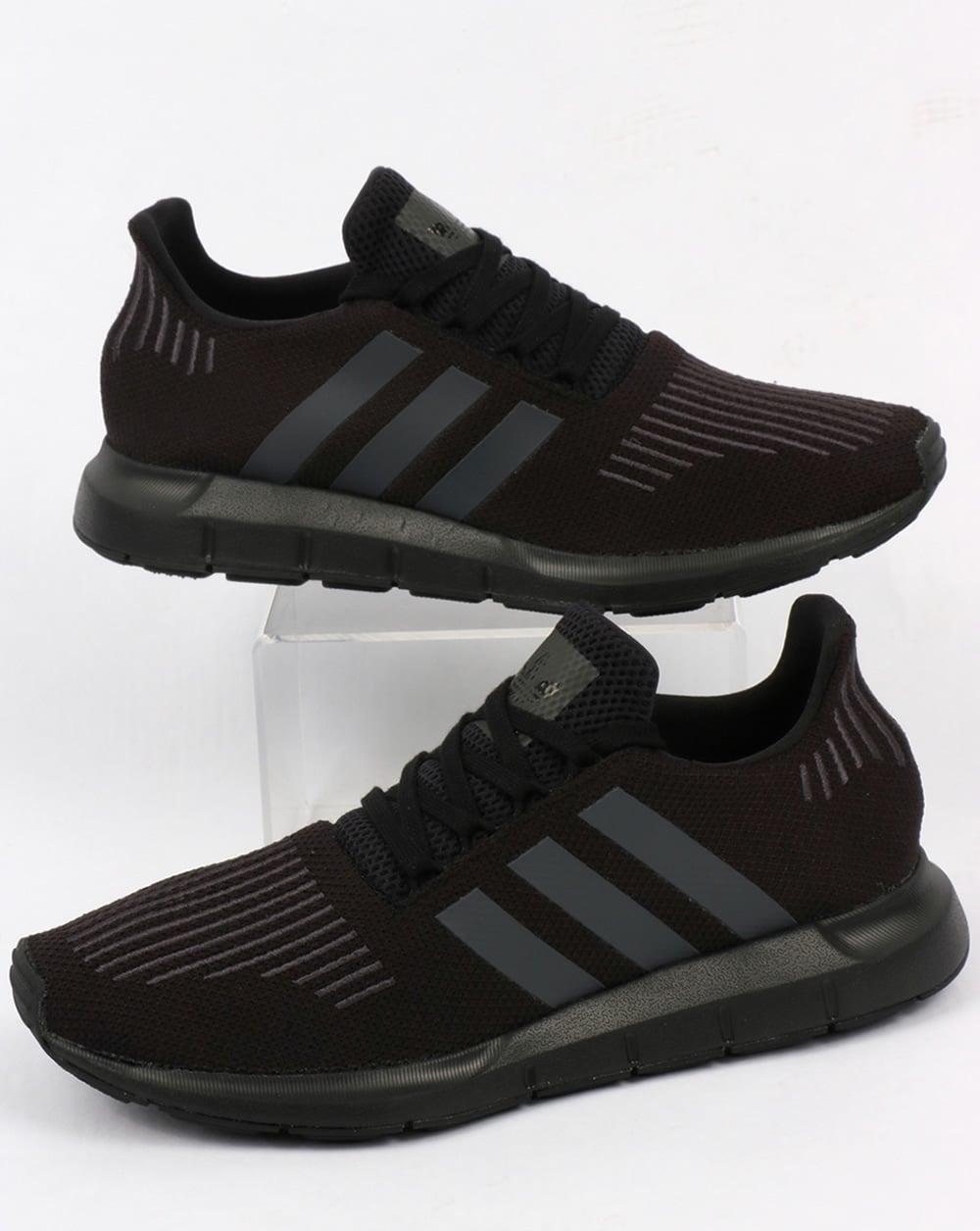 38ce9e14cf2d2f adidas Trainers Adidas Swift Run Trainers Black