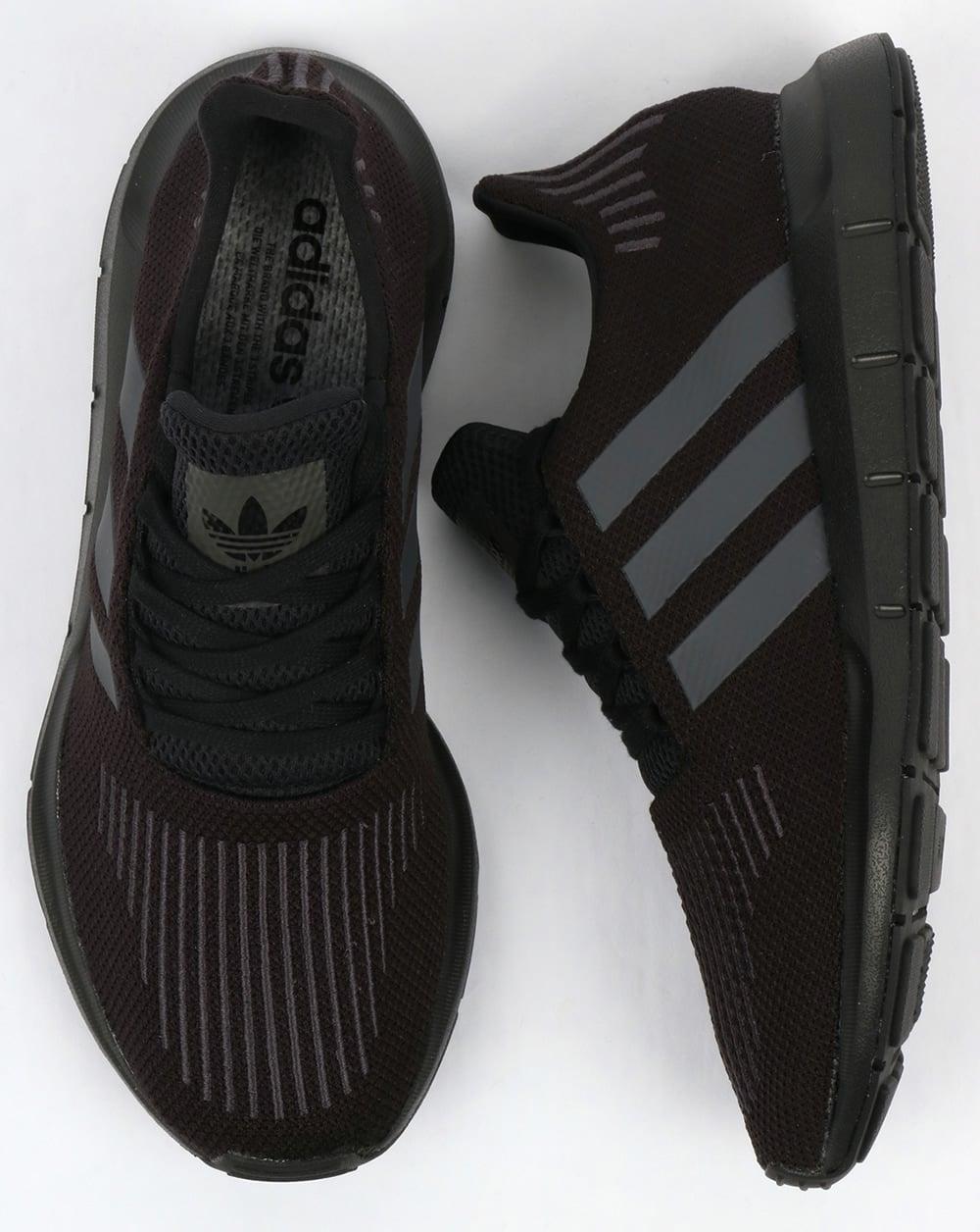 fe01f74ce325 Adidas Swift Run Trainers Black
