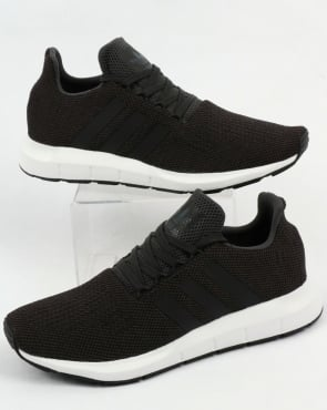 adidas Trainers Adidas Swift Run Trainers Carbon/Black/Grey