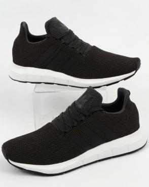 adidas Trainers Adidas Swift Run Trainers Carbon/Black/Grey