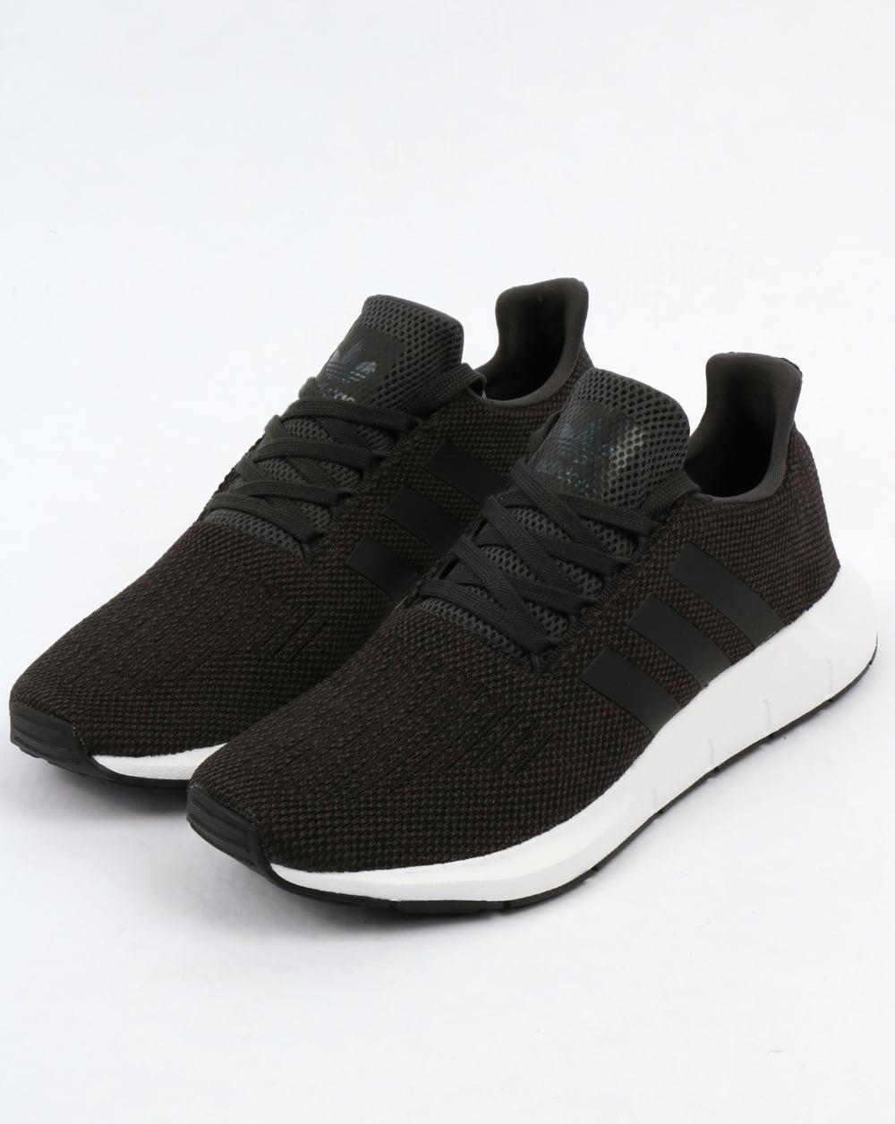 a27f6aedfedd Adidas Swift Run Trainers Carbon Black Grey