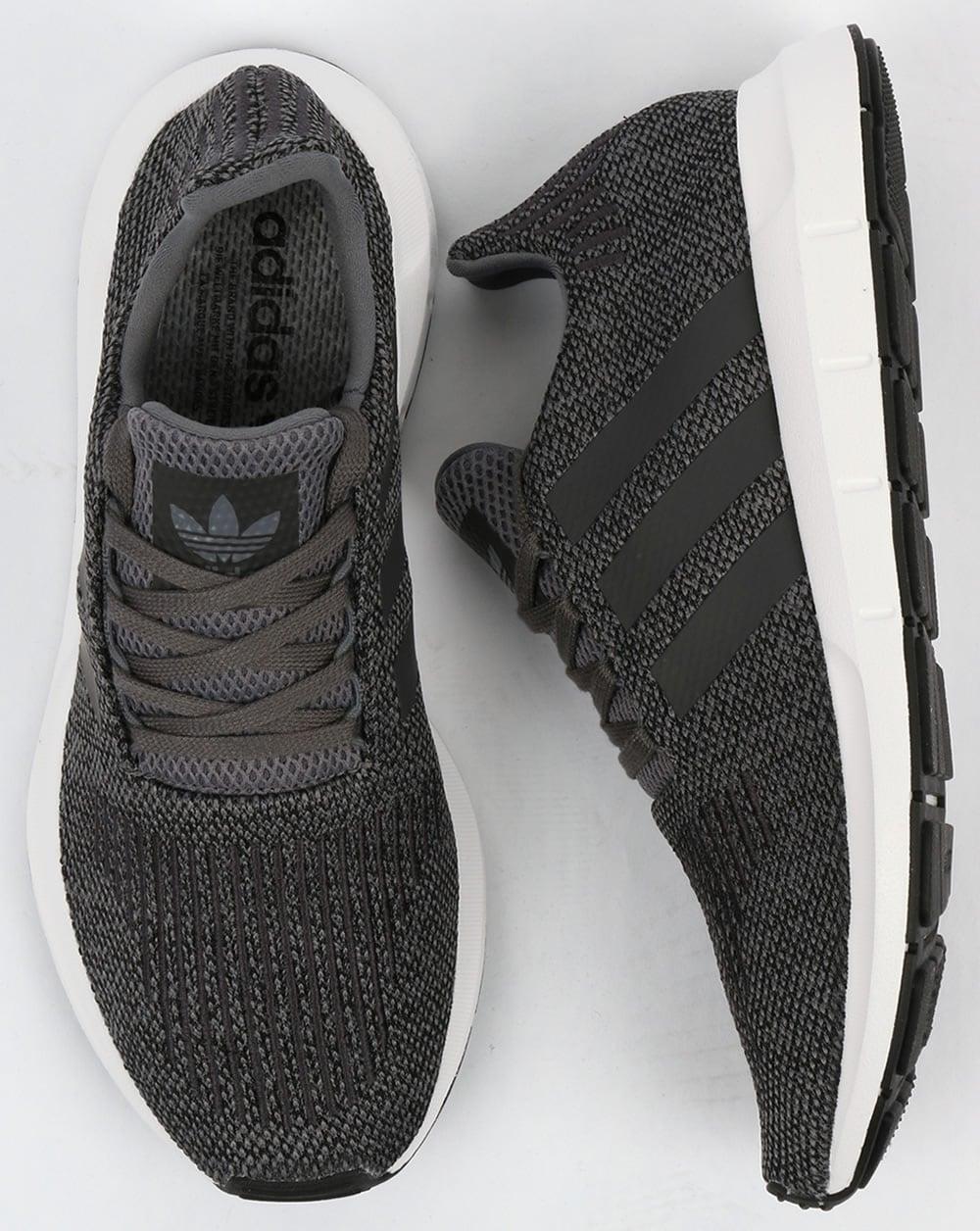 Adidas Swift Run Trainers Grey/Black,shoes,running,prime