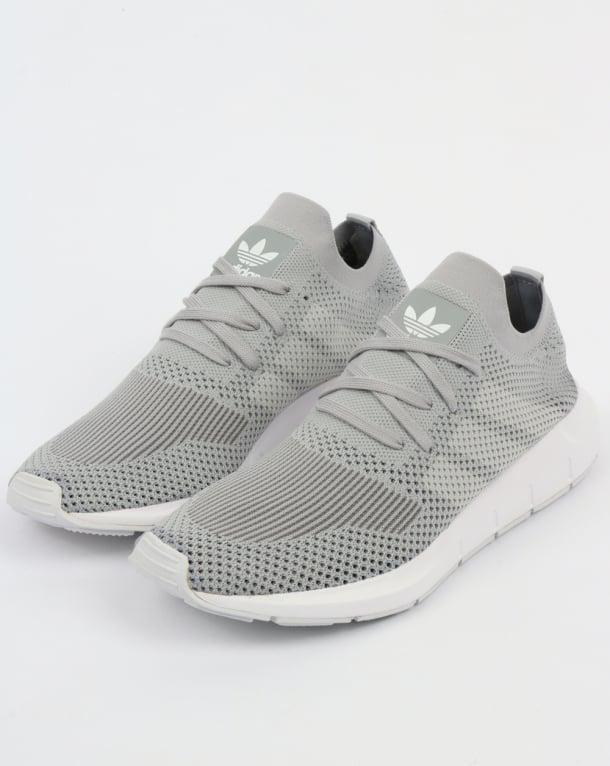 Adidas Swift Run Trainers Grey/White