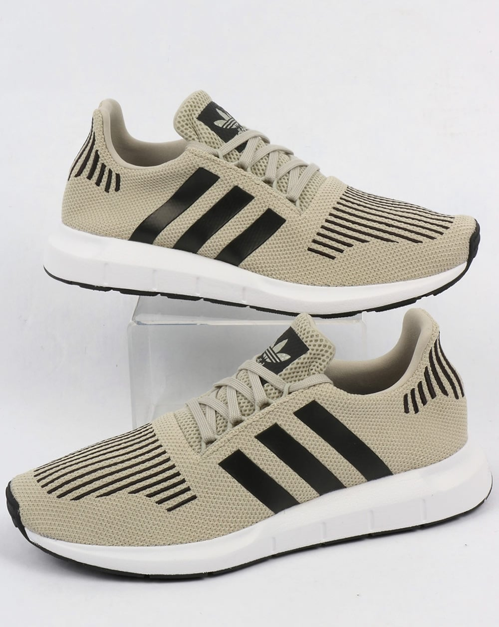 92b3efb8a24d7 adidas Trainers Adidas Swift Run Trainers Sesame Black White