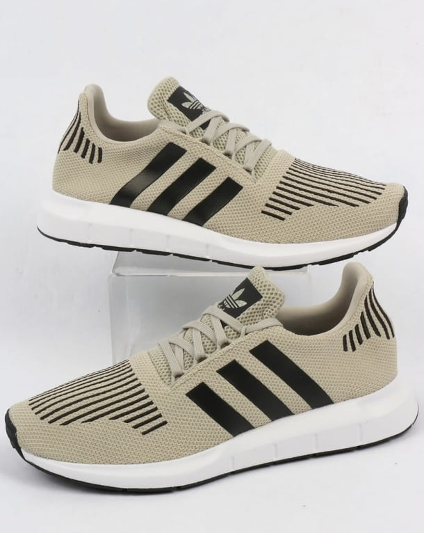 Adidas Swift Run Trainers Sesame/Black/White