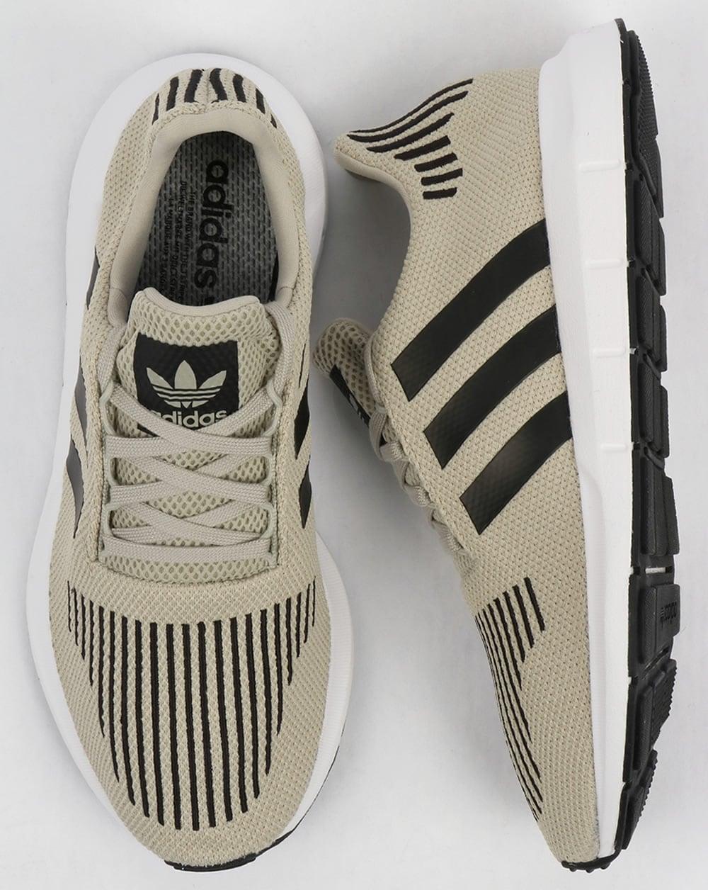 1e080f172f284 Adidas Swift Run Trainers Sesame Black White