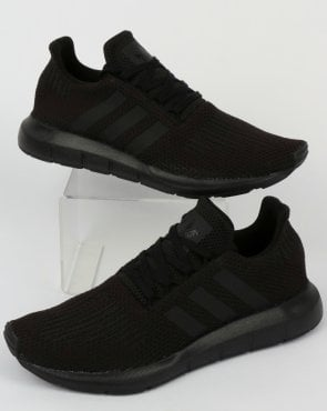 adidas Trainers Adidas Swift Run Trainers Triple Black