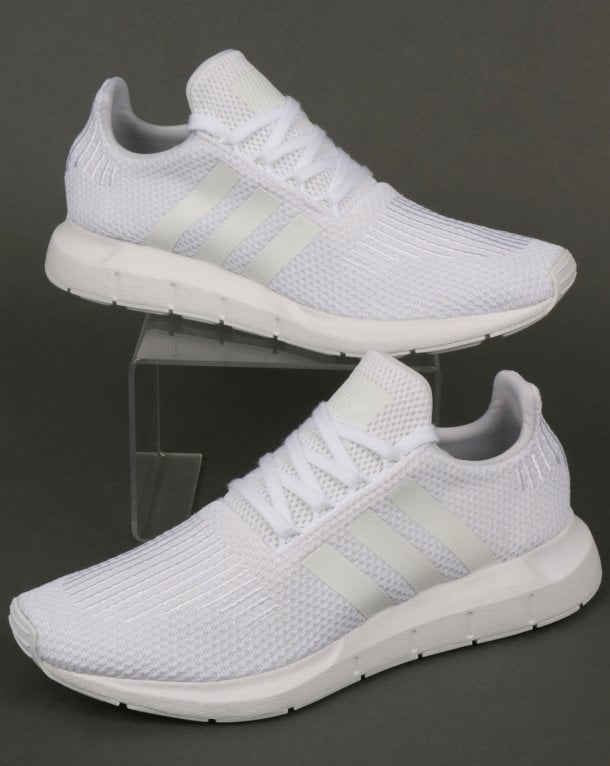 2d15ec207 adidas Trainers Adidas Swift Run Trainers Triple White