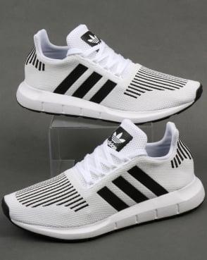 adidas Trainers Adidas Swift Run Trainers White/Black/Grey