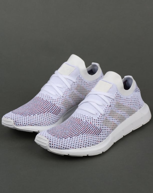 adidas Trainers Adidas Swift Run Trainers White Grey 30bdf96cb