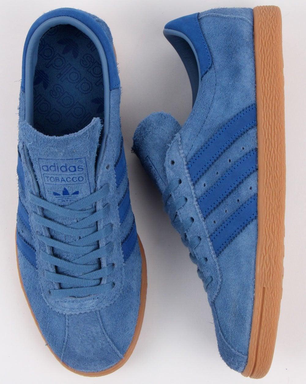 adidas tobacco blue