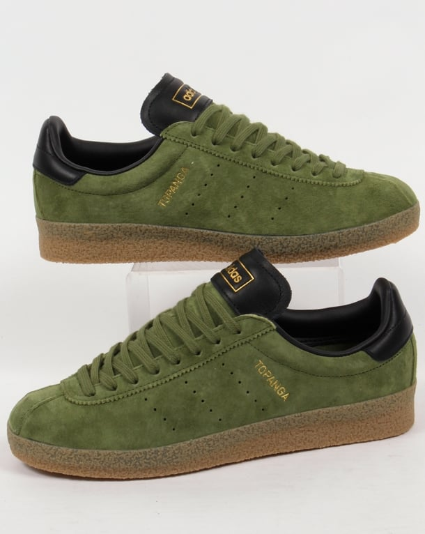 Adidas Topanga Clean Trainers Craft Green/Black
