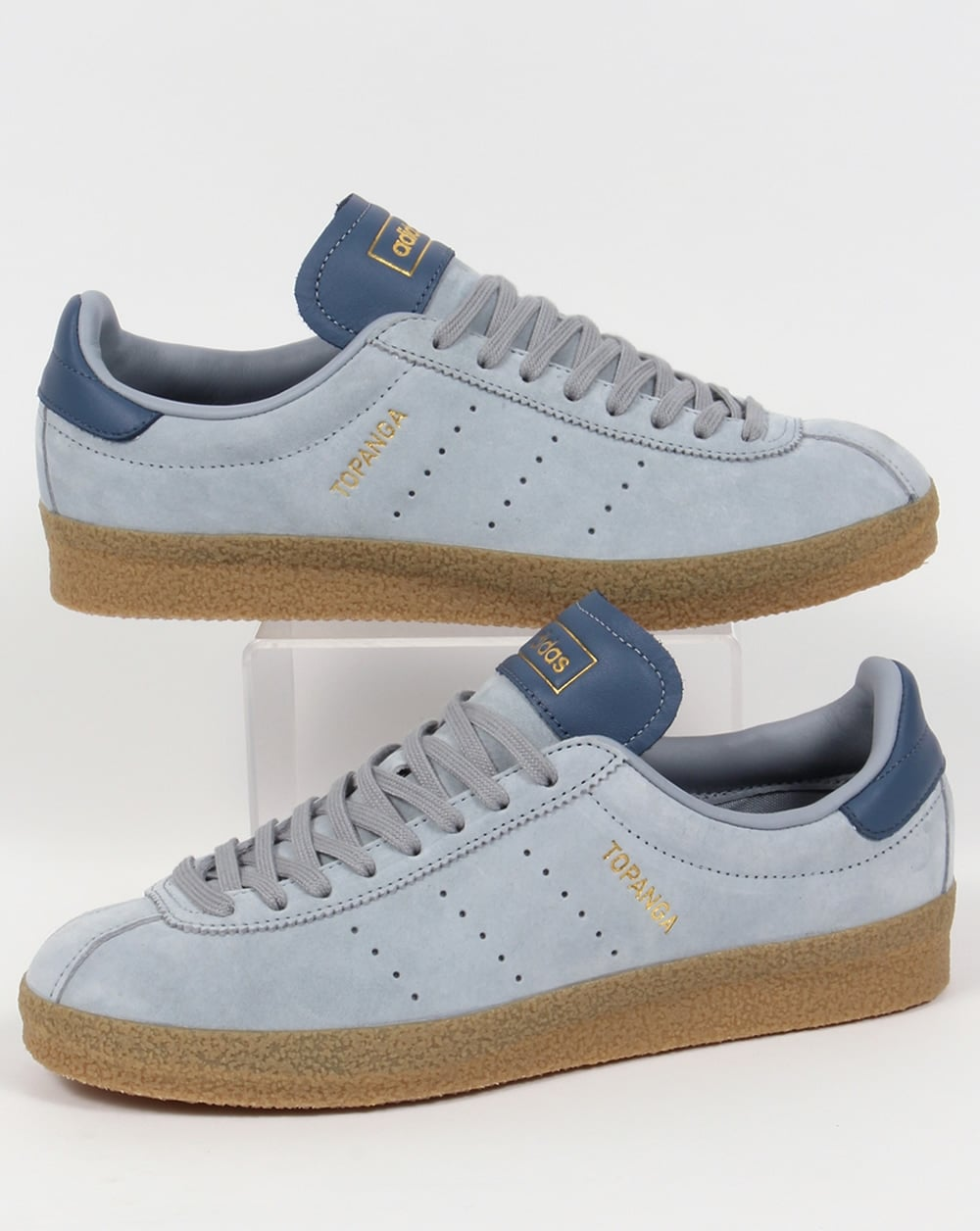 Adidas Topanga Clean Trainers Frosted Grey Ink