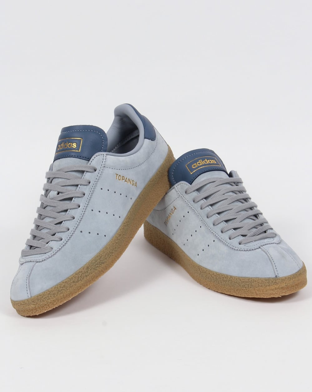 Adidas Topanga Clean Trainers Frosted Grey/ Ink