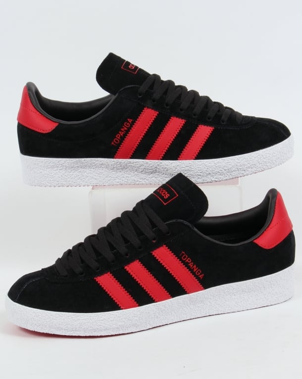 Adidas Topanga Trainers Black/Red