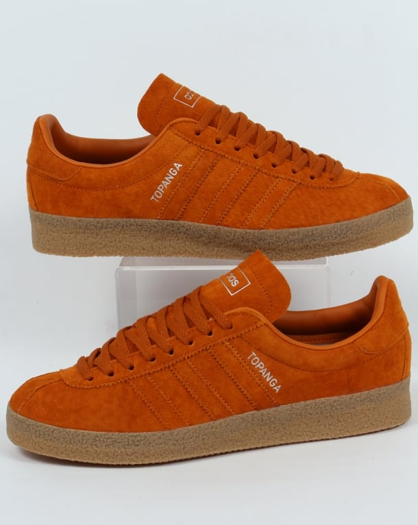 Adidas Topanga Trainers Craft Orange Ochre