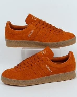 Adidas Trainers Adidas Topanga Trainers Craft Orange Ochre