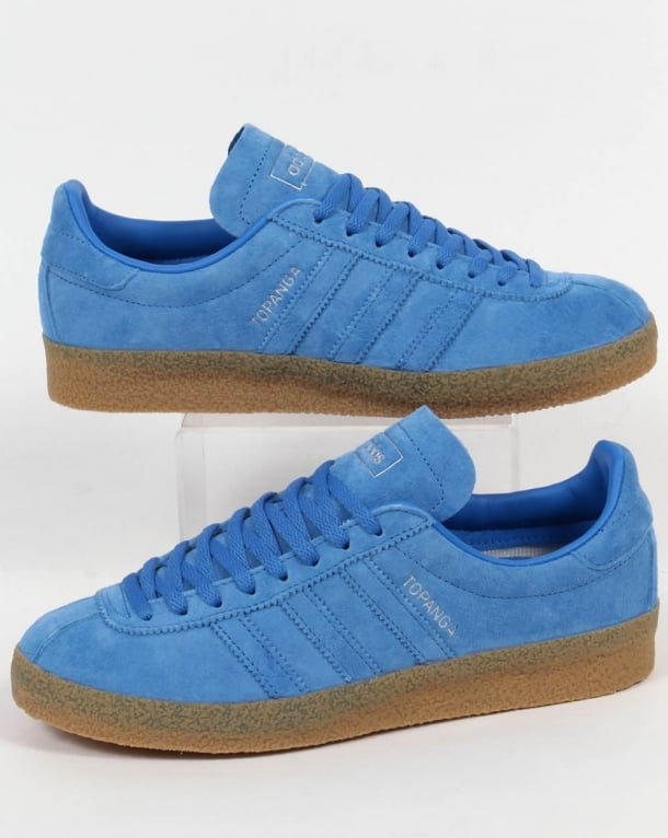 Adidas Topanga Trainers Light Blue