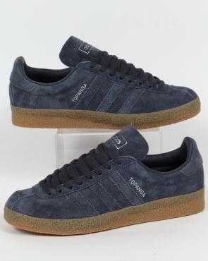 Adidas Trainers Adidas Topanga Trainers Utility Blue