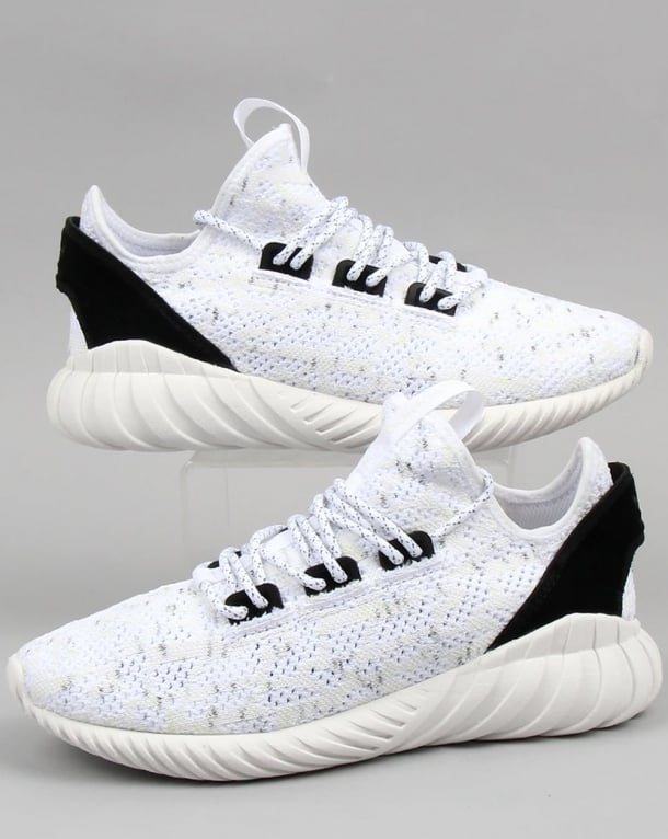 Adidas Tubular Doom Sock Pk Trainers White/white/black