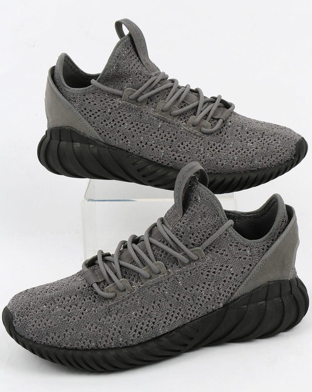 Adidas Tubular Doom Sock Trainers Grey
