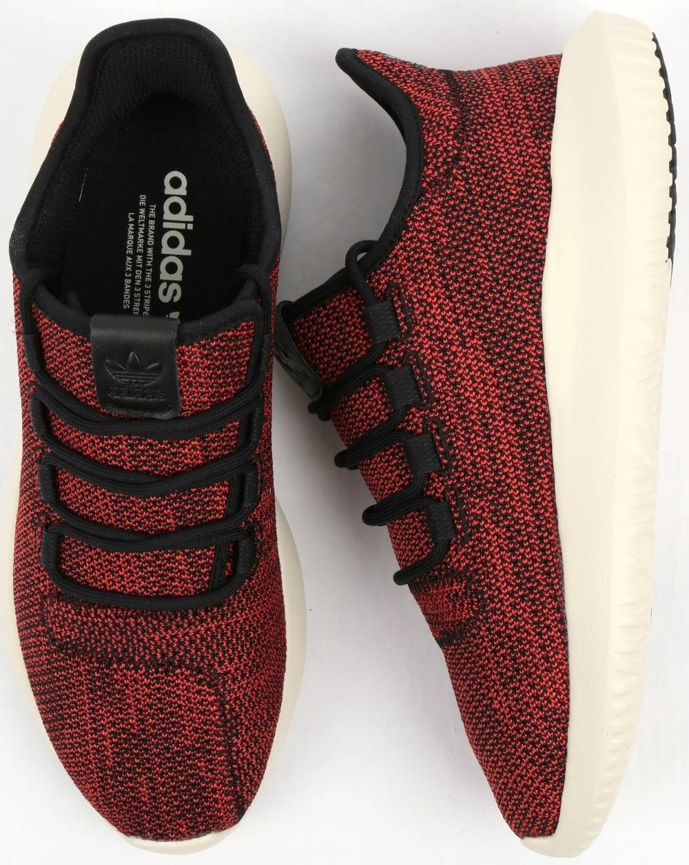 f135478fb Adidas Tubular Shadow CK Trainers Black/Scarlet,originals,shoes,mens