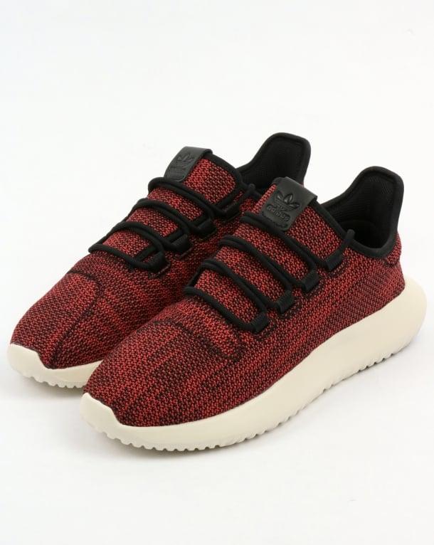 Adidas Tubular Shadow CK Trainers Black/Scarlet