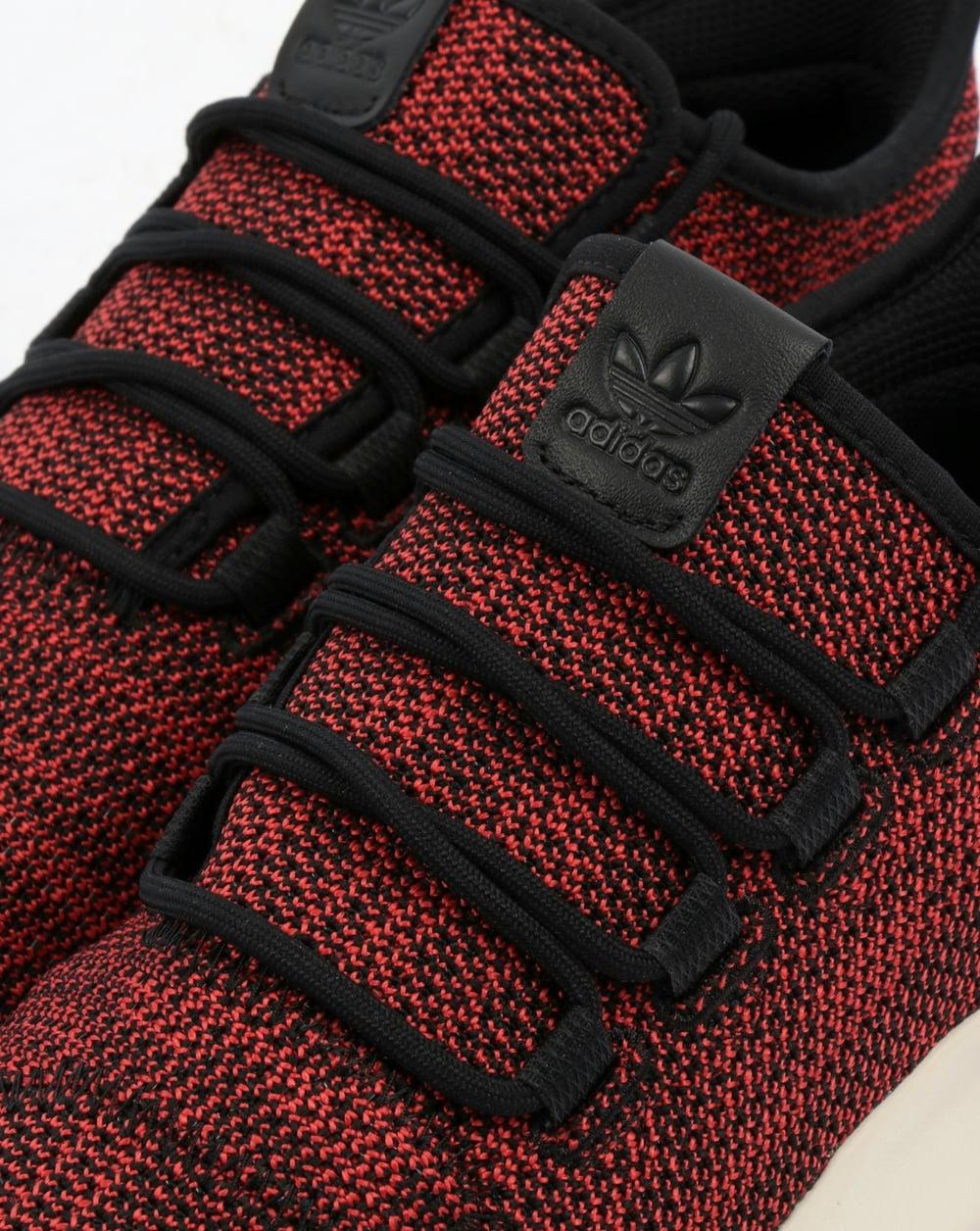 newest d6656 1ed61 Adidas Tubular Shadow CK Trainers Black/Scarlet