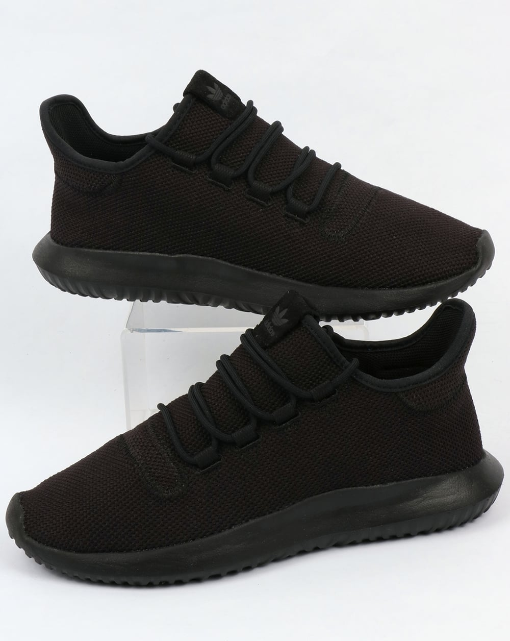 new styles 266cc 48ed3 Adidas Tubular Shadow Trainers Black