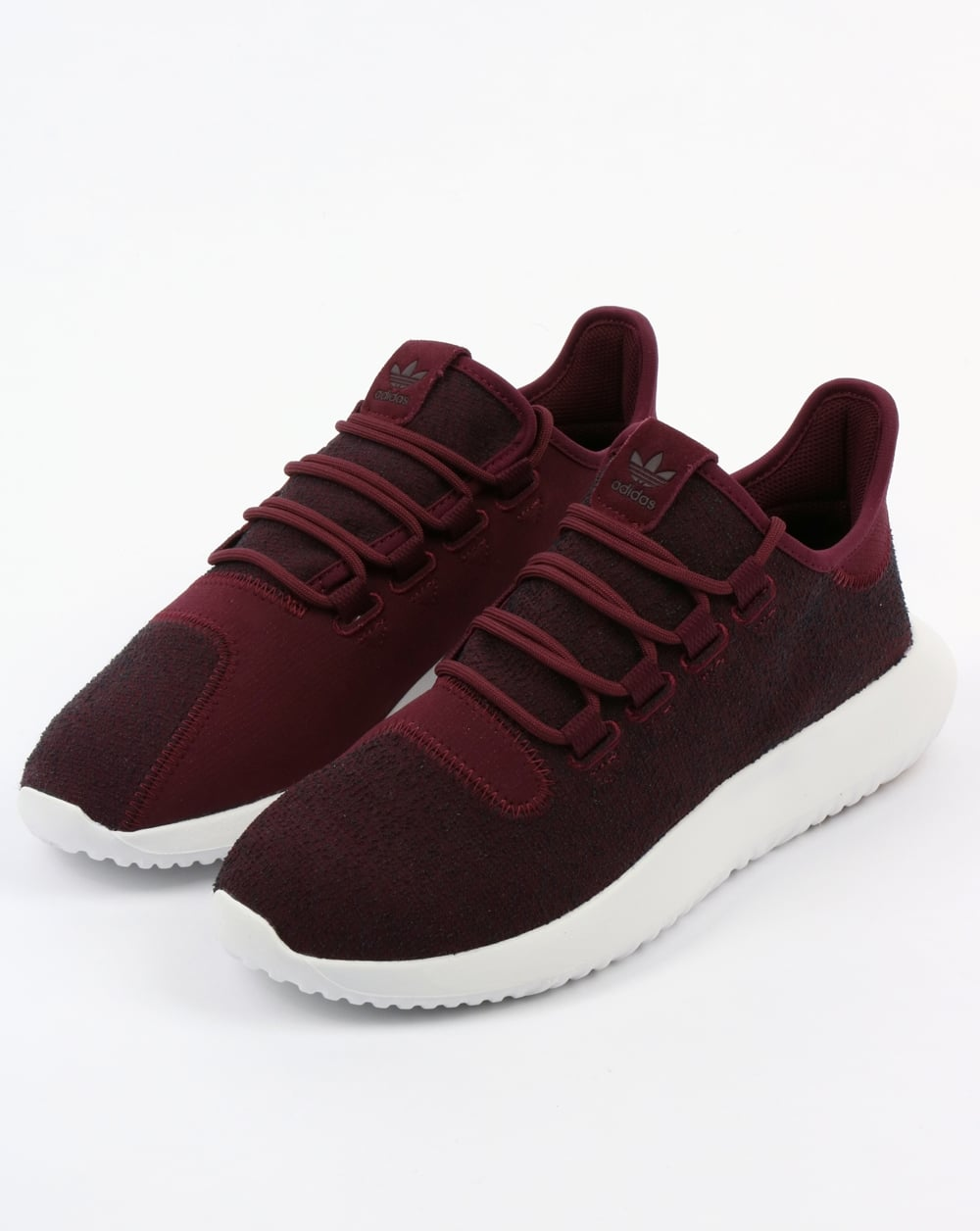 buy popular fc47e b4fdd Adidas Tubular Shadow Trainers Maroon/Vapour Grey