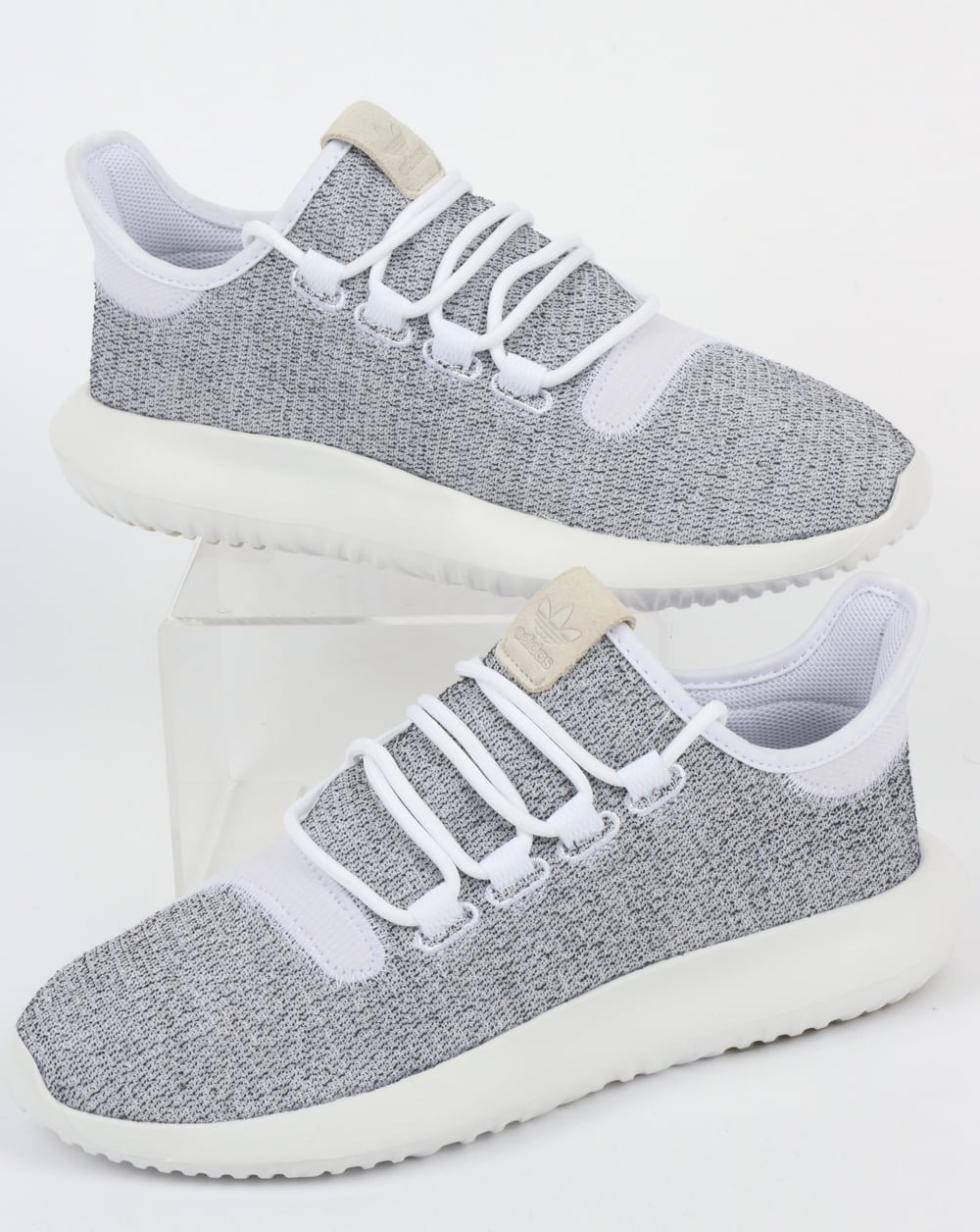 f4d5d94321c8 adidas Trainers Adidas Tubular Shadow Trainers White Grey