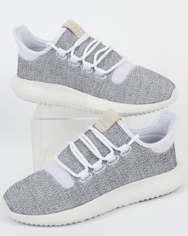 pretty nice 42507 2d151 Adidas Tubular Shadow Trainers White/Grey