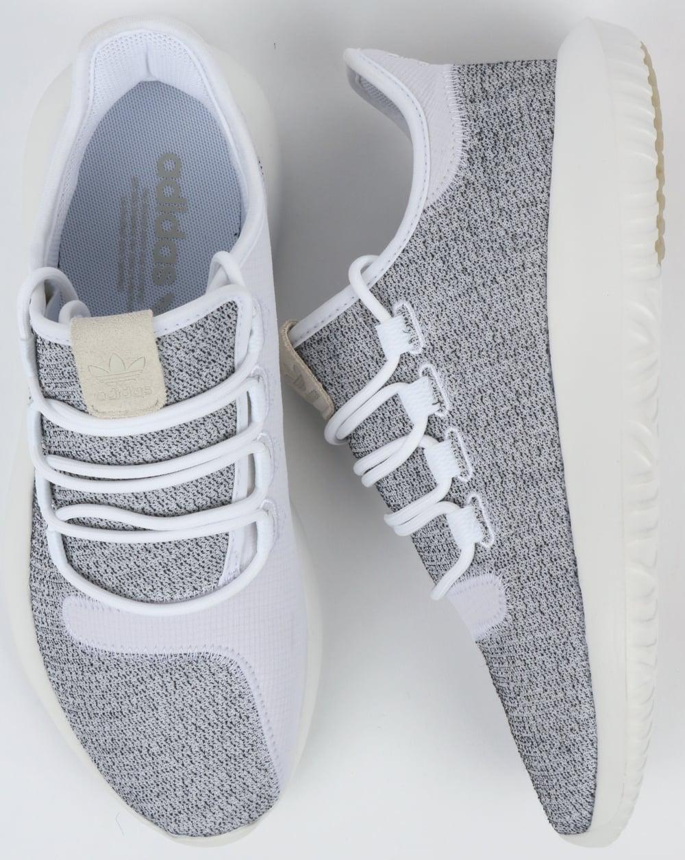 pretty nice bdd88 84e92 Adidas Tubular Shadow Trainers White/Grey