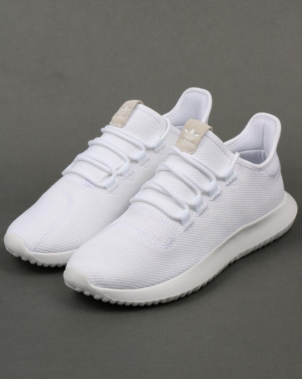 adidas tubular shadow trainers whiteblack mens
