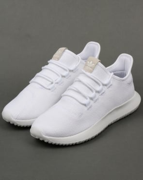 adidas Trainers Adidas Tubular Shadow Trainers White
