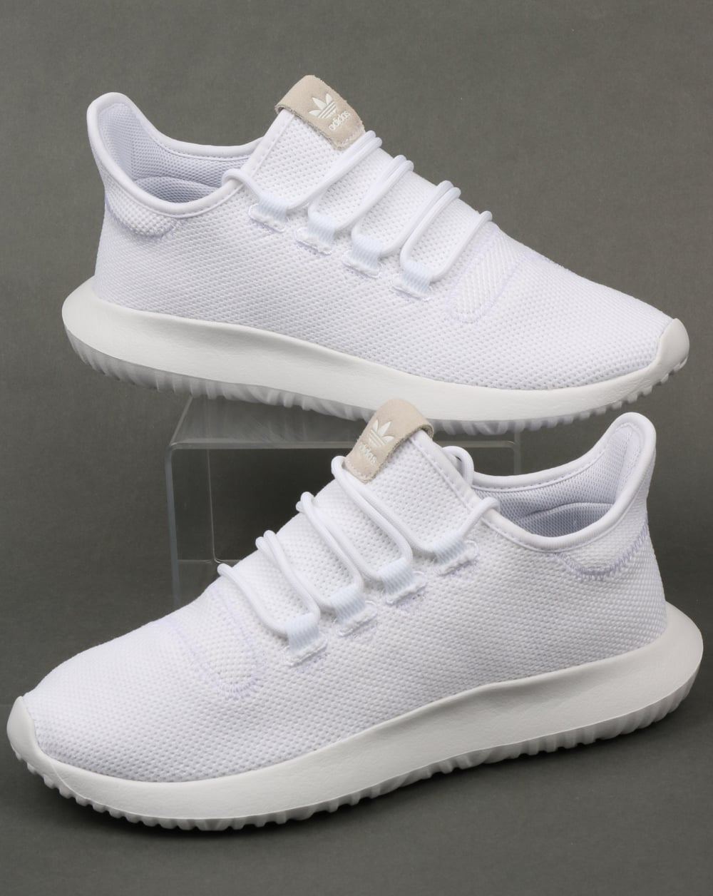 adidas tubular shadow trainers white