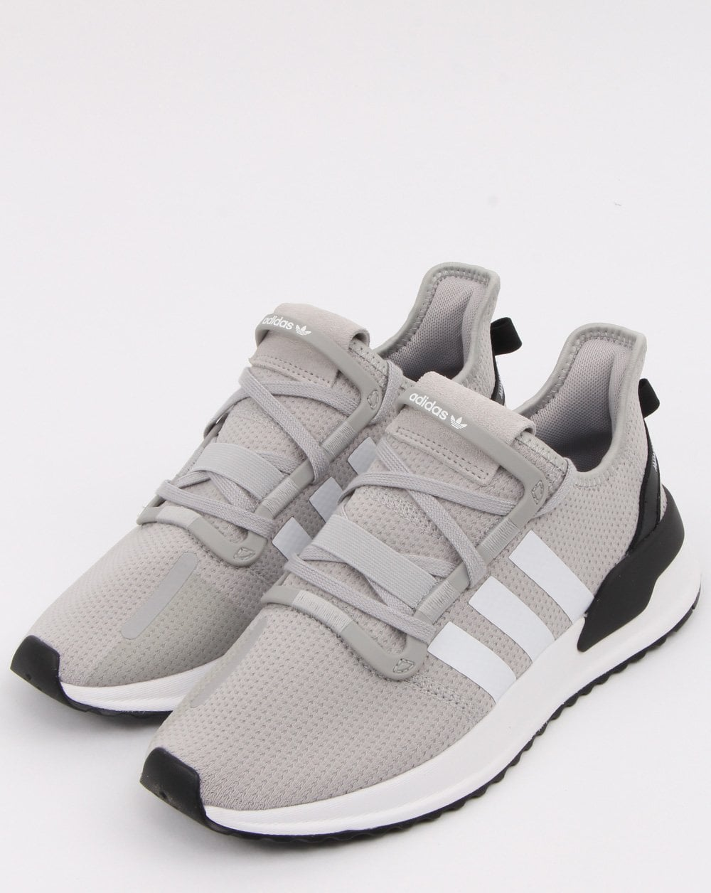 2aeba4932aa Adidas U path Run Trainers Grey White - Shop More Adidas Here at 80sCC