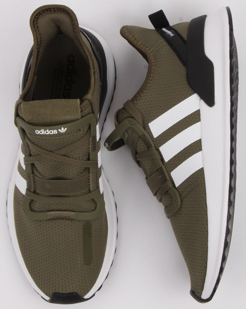6f31aa1a457 Adidas U path Run Trainers Raw Khaki White - Shop More Adidas at 80sCC