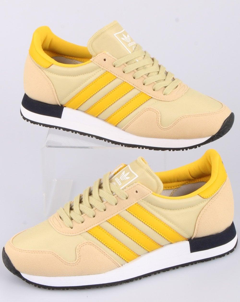 Adidas Usa 84 Trainers Hazy Beige/Hazy Yellow