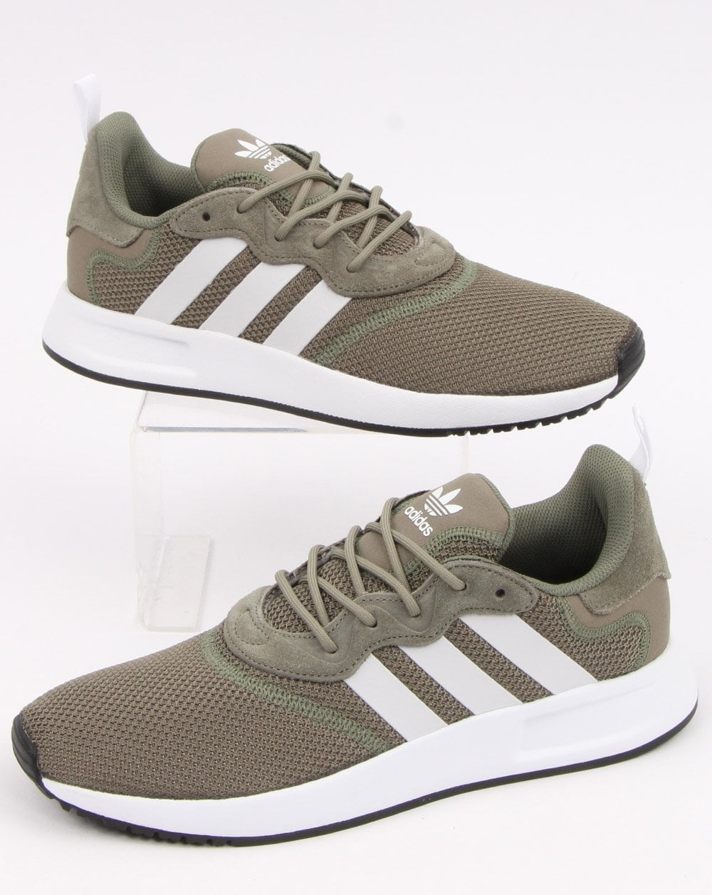 adidas X PLR S Trainers in Green and