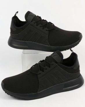 adidas Trainers Adidas XPLR Trainers Black/Trace Grey