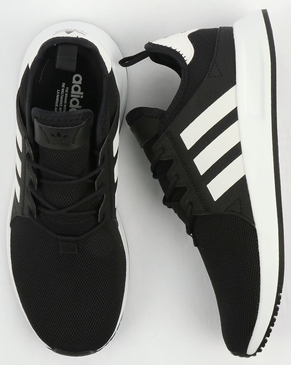 low priced 6ba4d 41981 Adidas XPLR Trainers Black White