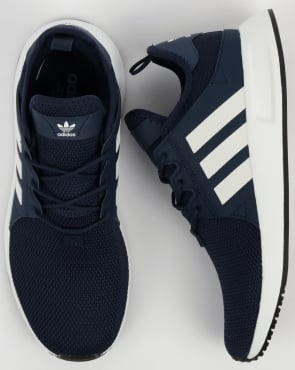 adidas Trainers Adidas XPLR Trainers Navy/White/Trace Blue