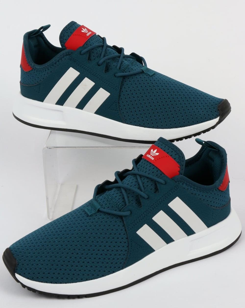 Adidas XPLR, Trainers, Petrol, blue