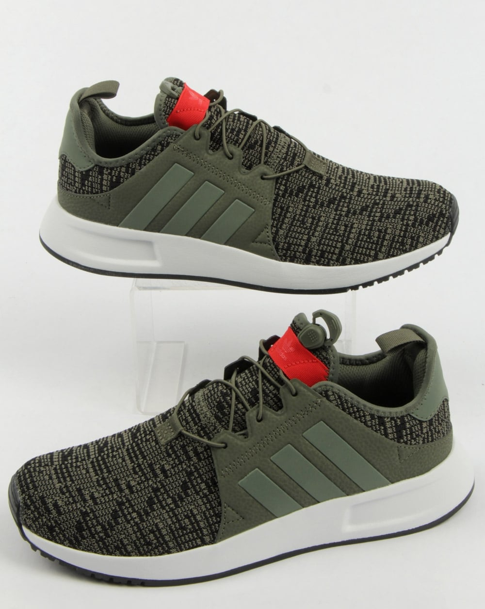 new concept ff01c 89f6f Adidas XPLR Trainers St Major Green/red