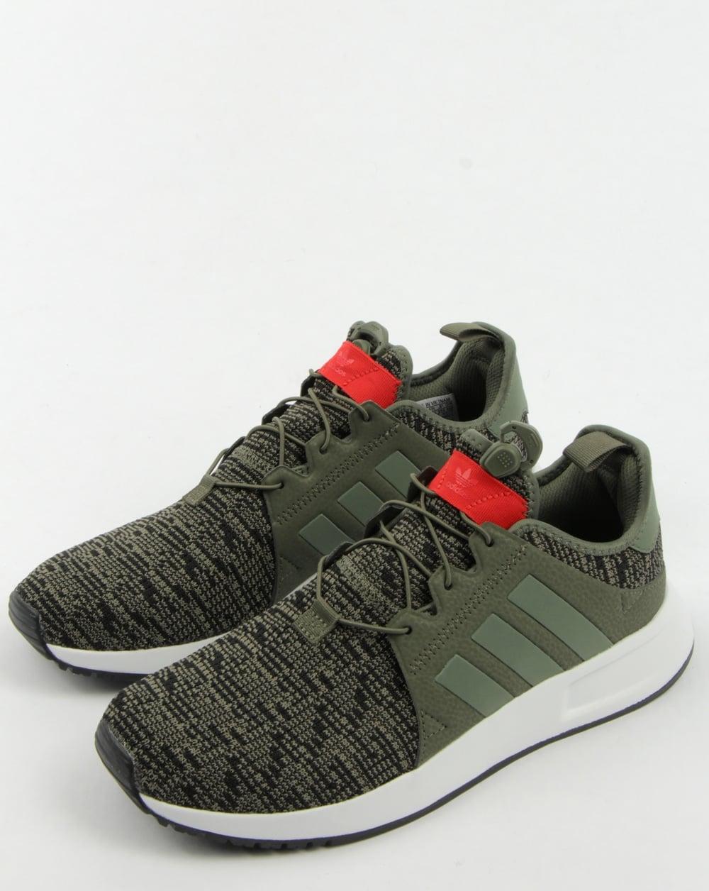 adidas xplr trainers green
