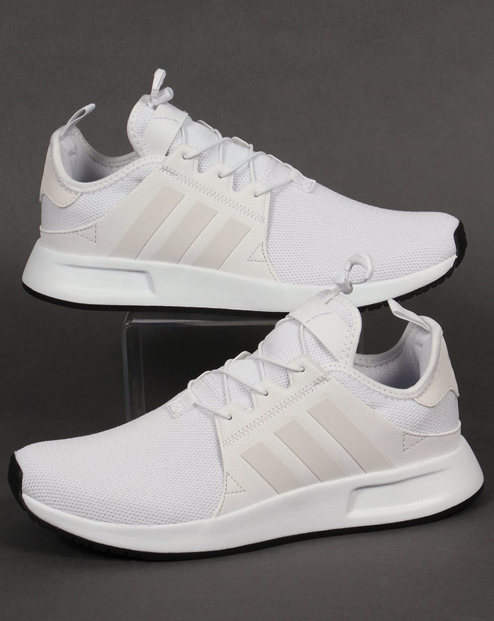 adidas xplr trainers triple white originals shoes running. Black Bedroom Furniture Sets. Home Design Ideas